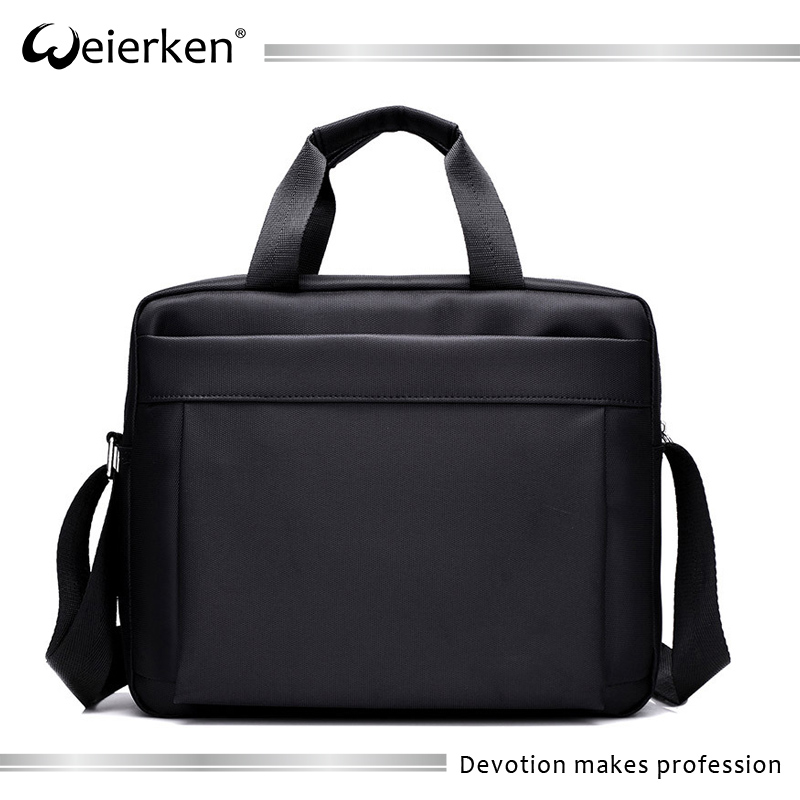 Custom 17.3 inch large capacity travel blank briefcase laptop bags