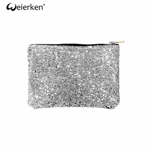 Simple Latest Model Glitter Cosmetic Bag