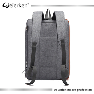 Wholesale nylon travelling usb backpack, custom laptop backpack