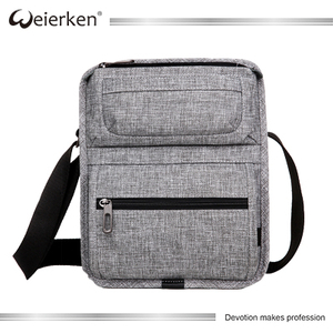 Weierken Waterproof lightweight man shoulder laptop messenger bag