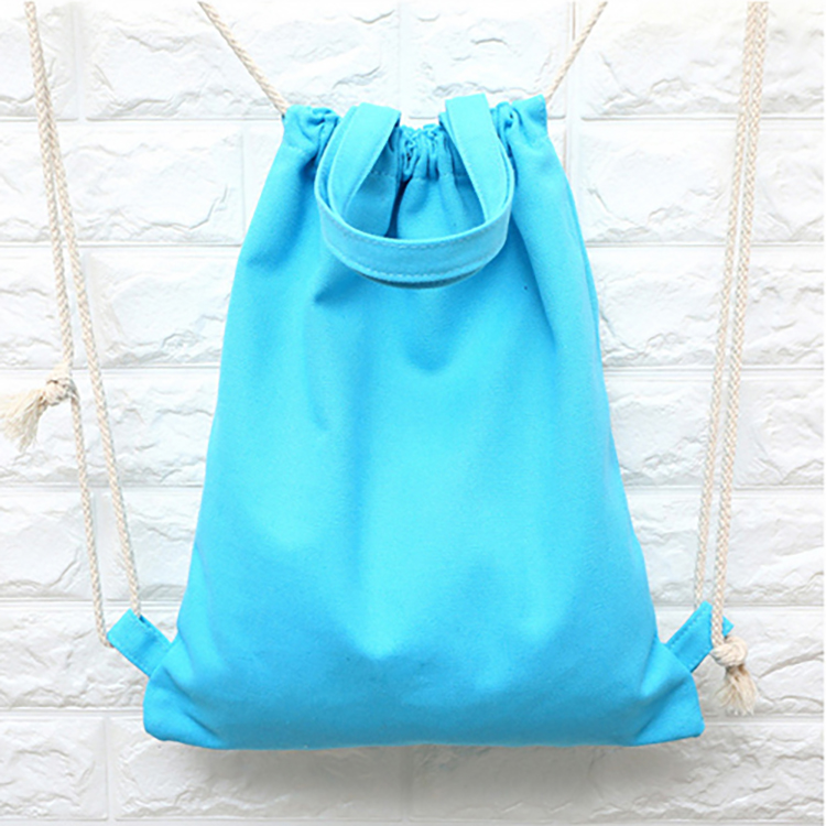 Best Price Large Capacity Office Cotton Drawstring Bag