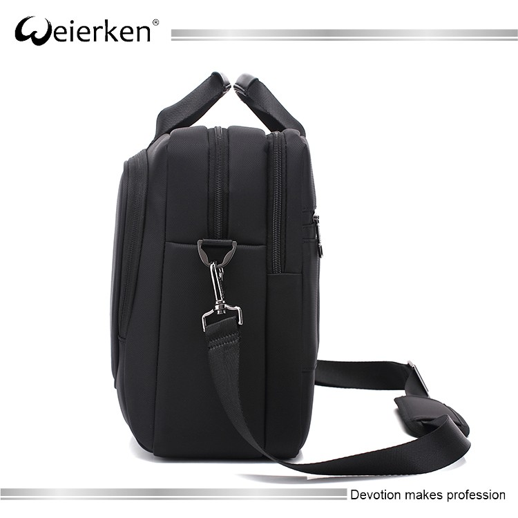 Hot sale black 15 inch waterproof laptop computer bag