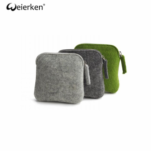 Waterproof Creative Style Felt Cosmetic Bag