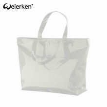Wear Resistant Eco Friendly PVC Shopping Bag