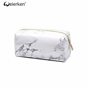 Reusable Promotion Marble Cosmetic Bag