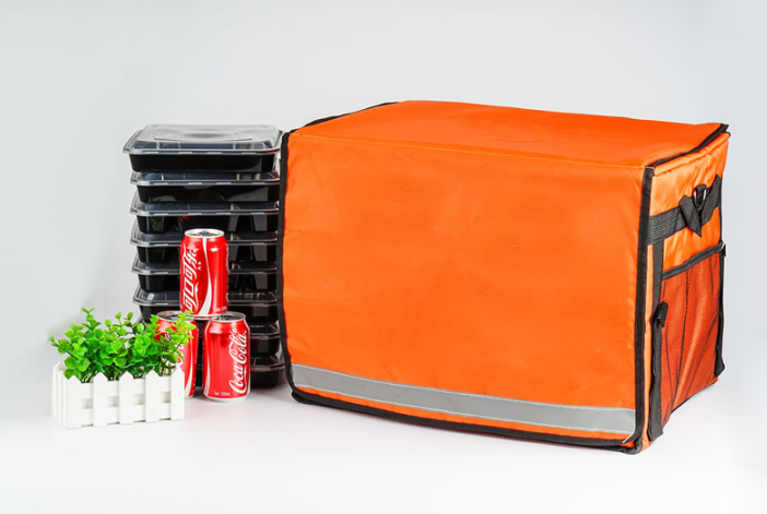 OEM hot and cold food delivery bag