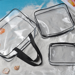China Professional Manufacturer Custom Water-proof Travel Clear PVC Packing Cubes