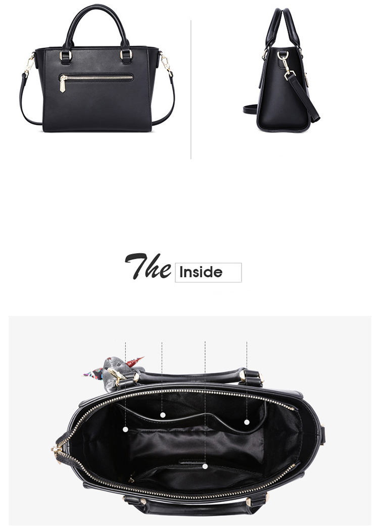 Latest Shopping Bag Casual Women's Bags Designer Zipper PU Handbags